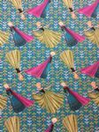 NEW! FROZEN ELSA AND ANNA - Fabric - 100% Cotton - Price Per Metre